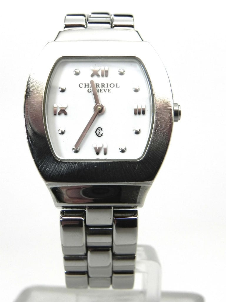 Philippe Charriol Azurt Stainless Steel Ladies Watch