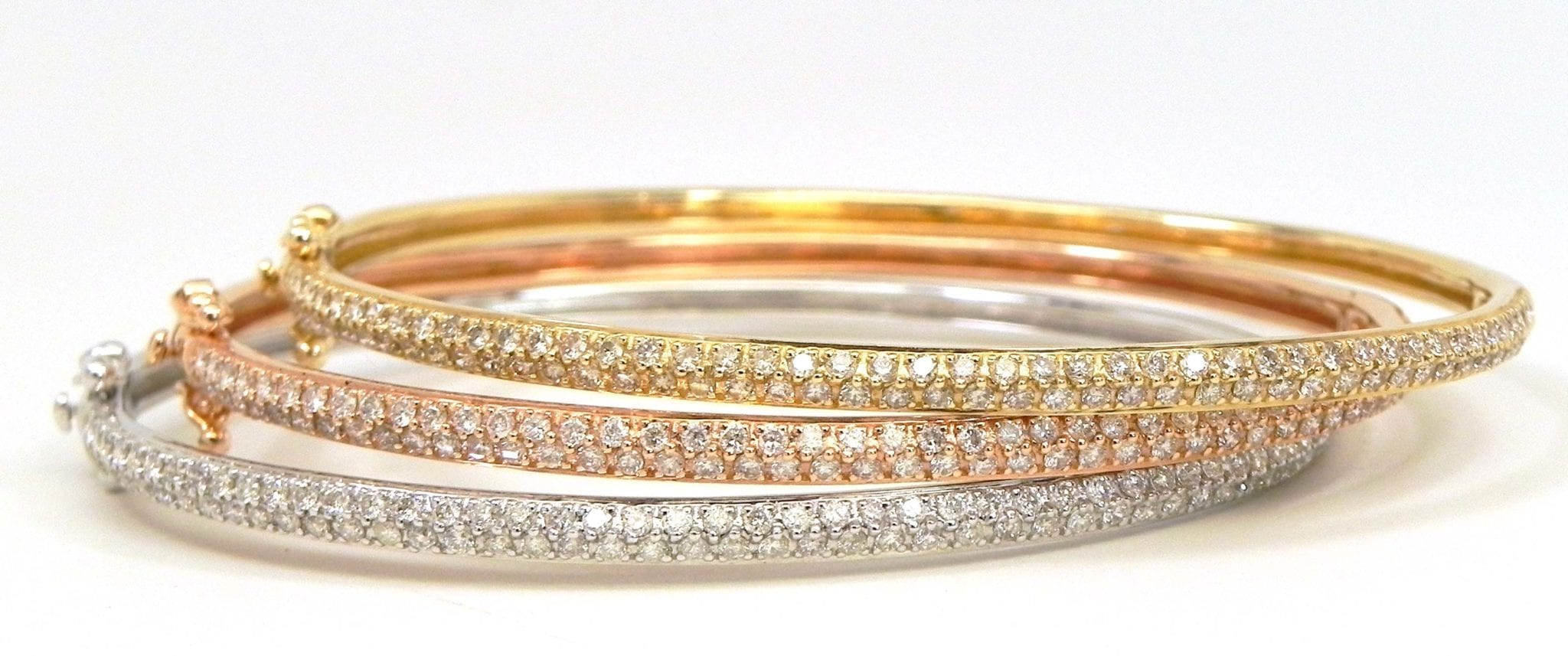pipercleo gold bands color colored r stackable rings tri com products
