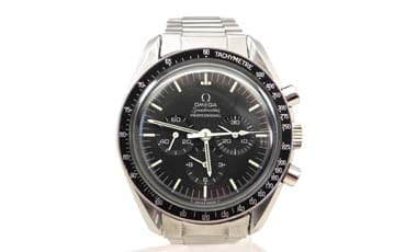 Apollo Omega Speedmaster Professional 9-13-75 SS Manual Watch