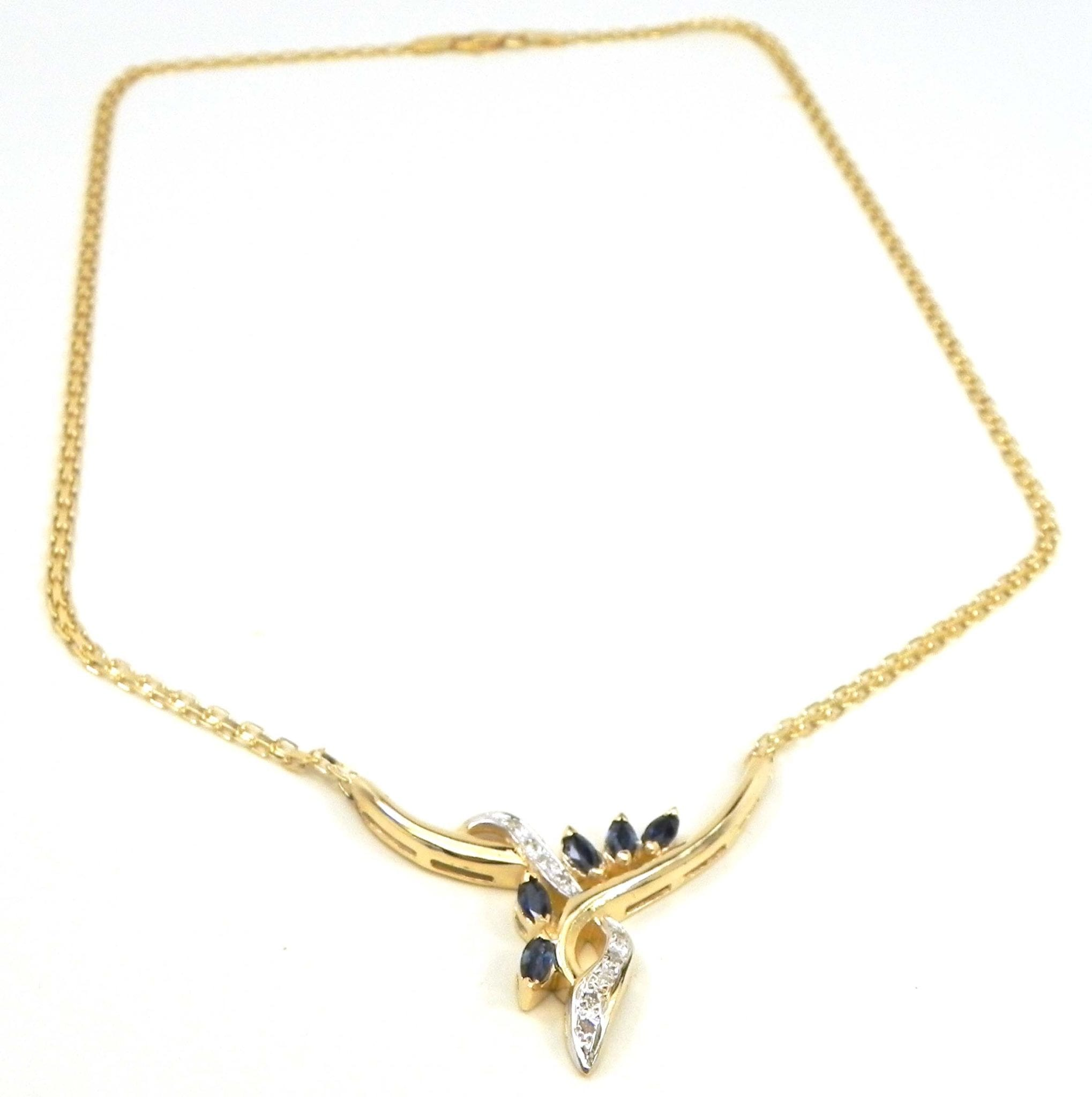 yellow sapphire necklace - photo #41