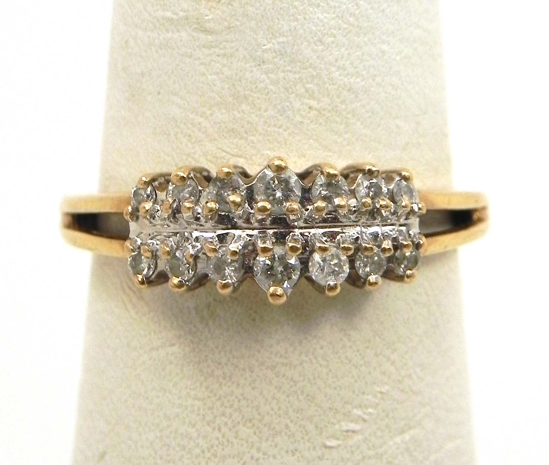 princess size diamond ladies wedding shop ring gold cut yellow rings sku