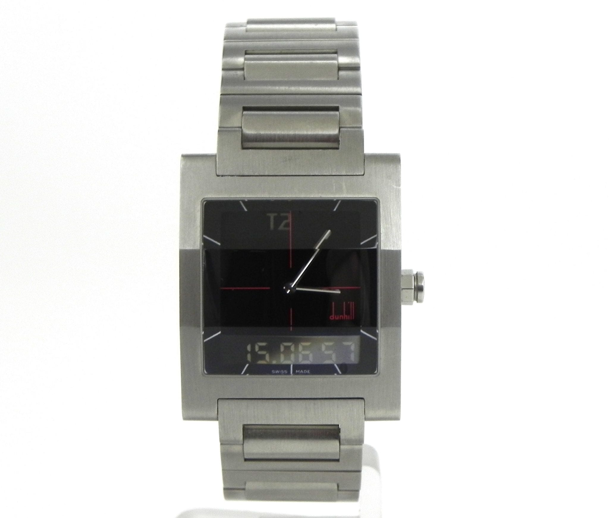 dunhill men s ss dm7 digital quartz watch includes box papers 1100 00 previous next