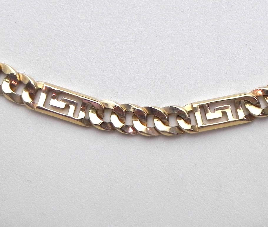 Chain link designs for jewelry
