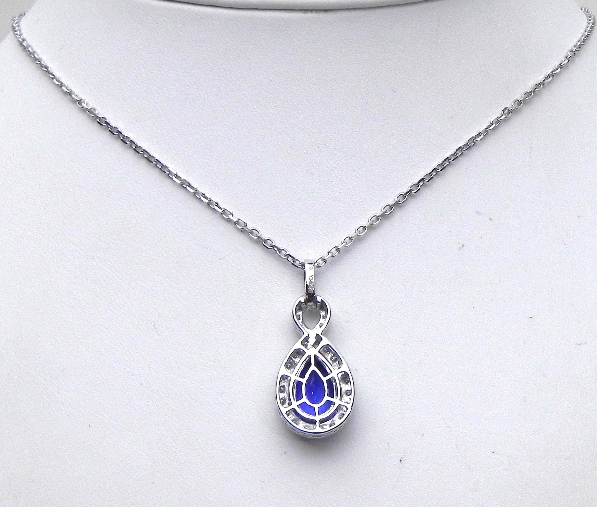 natural nacklace birthstone december necklace tanzanite healing dainty gemstone cjrc listing layering boho il fullxfull