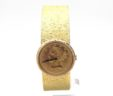 Ladies Bueche Girod 18k Yellow Gold 1897 $10 Coin Manual Watch
