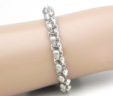 Ladies 14k Two-Tone Link Bracelet