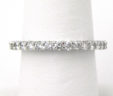 Ladies 14k White Gold 1.20 Cts. Diamonds Eternity Band