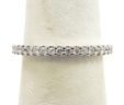 Ladies 14k White Gold 1/2 Cts. Diamonds Eternity Wedding Ring