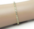 Ladies 14k Yellow Gold 1.50 Cts Diamonds Tennis Bracelet