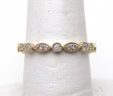 Ladies 14k Yellow Gold Diamond Eternity Size 6.5 Band Ring