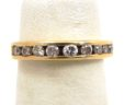 Ladies 14k Yellow Gold Diamonds Ring