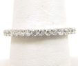 Ladies 18k White Gold 1.02 Cts. Diamonds Eternity Wedding Band