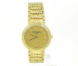 Ladies Patek Philippe 18k Calatrava 4 Row Watch w/Original Gold Band WOW!!