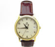 Men's Omega De Vile 18k Yellow Gold Quartz Watch Includes Box & Papers