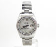 Ladies Rolex SS DateJust 179160 Diamond Bezel & MOP Diamond Dial Includes B&P