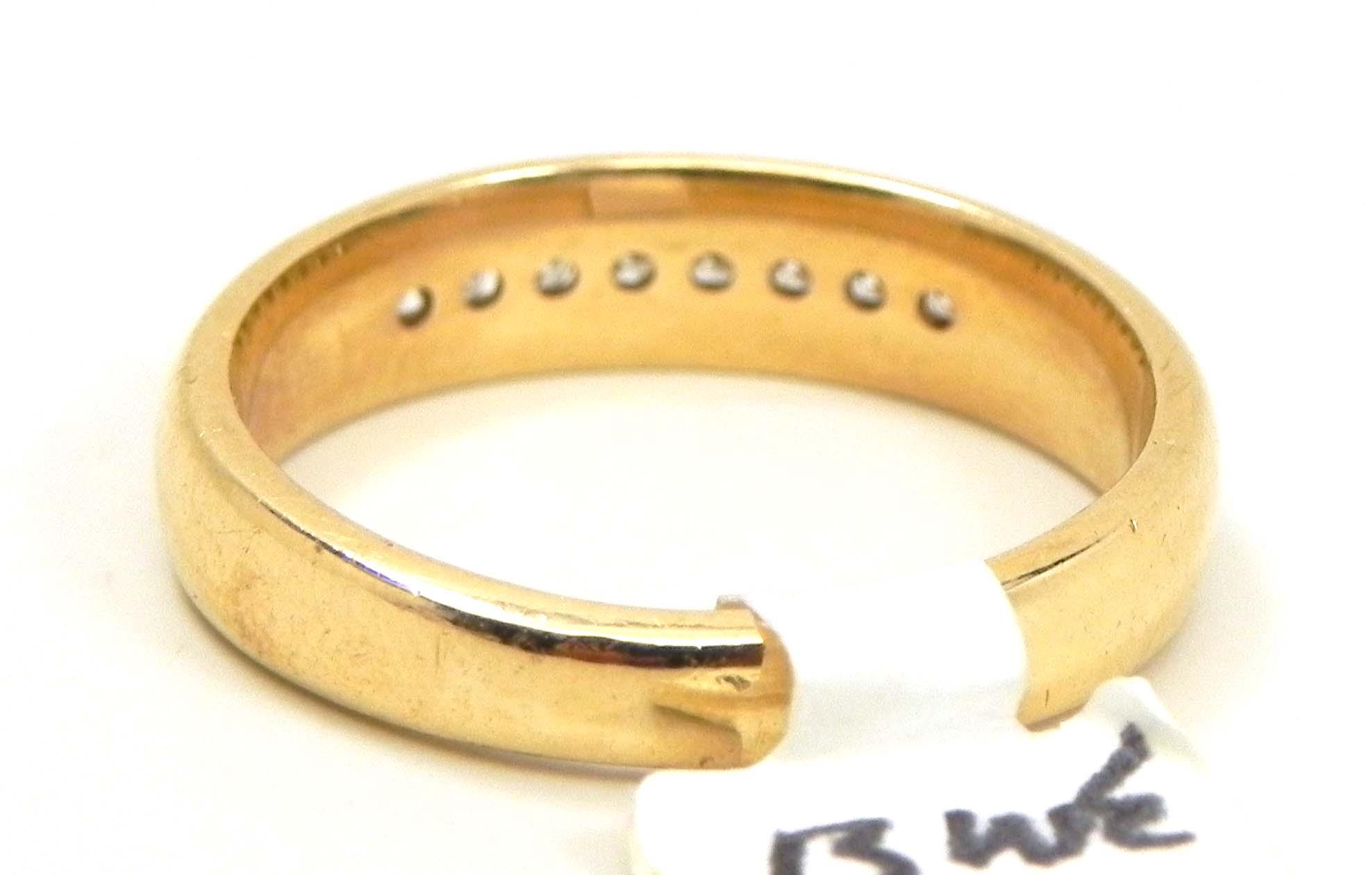 Ladies 14k Yellow Gold Diamonds Wedding Band Bright Jewelers