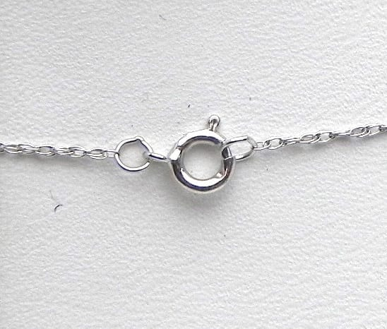 9f275fde8a9 Ladies 14k White Gold 2.50 Cts Oval Aquamarine   Diamonds Pendant w Chain