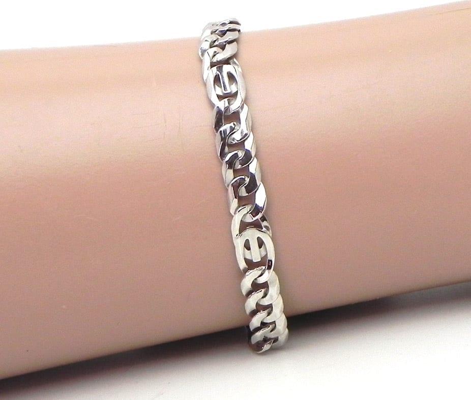 Mens Gold Clasp Bracelet